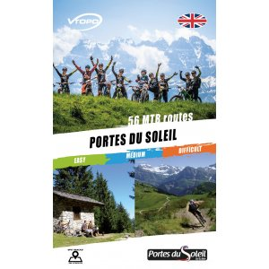 VTOPO VTT Portes du Soleil English Book - 2e édition